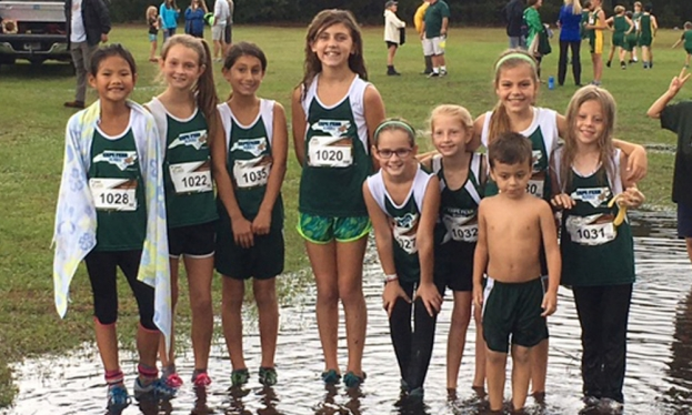 Cape Fear Flyers Cross Country Team participated in the 2017 Carolina's Middle and Elementary School Championship