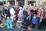 This past Friday Girl Scout Troop 867 hosted their 3rd Annual Trunk-or-Treat at the Carolina Beach Presbyterian Church. Costumed guests enjoyed tons of sweets, games galore and a costume contest.  The event raised over 90 canned items that will be donated to the Federal  Point Help Center.