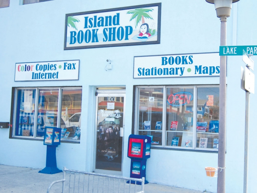Island Book Shop: Re-Opening March 21st