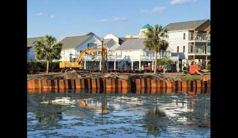 Council Hears Update On Carolina Beach Lake Dredging Project