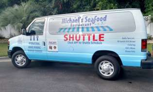 Spotlight On Coastal Cuisine: Check Out the All New Michael's Seafood Restaurant Shuttle