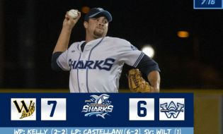 Sharks Come Up a Few Feet Short, Fall to Tobs