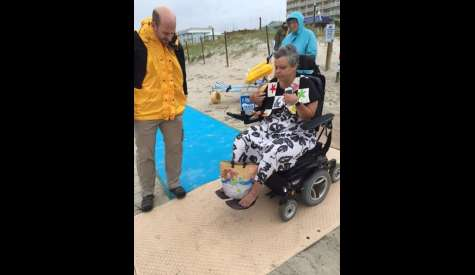 Council To Consider Improving ADA Access To Beach At Boardwalk