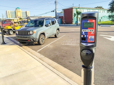 Parking enforcement will return to Carolina Beach on April 1st. Parking is free at Town parking lots and metered parking spaces in the off season. From April 1st to October 31st, parking is $2.50 per hour in lots and $2.50 per hour at parking meters. Failure to pay leads to a $30 ticket. The Town sells Parking Permits to permit parking without paying at a lot or meter.
