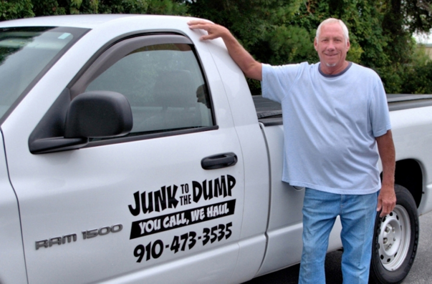 "Junk to the Dump: ""You Call, We Haul!"""