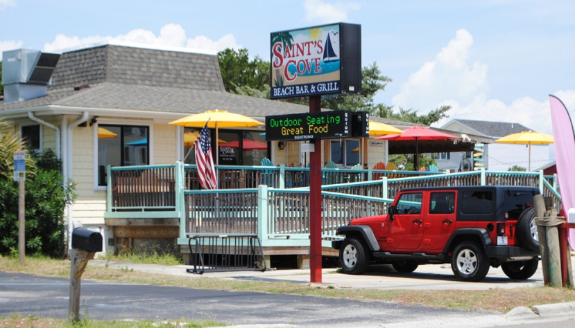 Spotlight On Coastal Cuisine: Saint's Cove Beach Bar and Grill Open For The Off Season