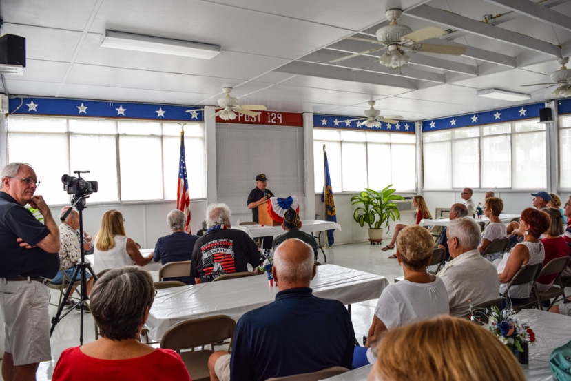American Legion Post 129 Holds Memorial Day Ceremony