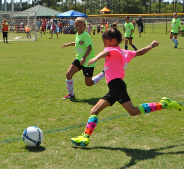Pleasure Island Soccer Association Kicked off their 2016 Fall Season