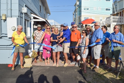 Pleasure Island Chamber Holds Ribbon Cutting for Salt Water Real Estate