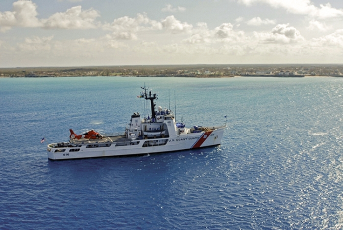 Coast Guard Cutter Diligence Leaving Wilmington Sooner Than Expected