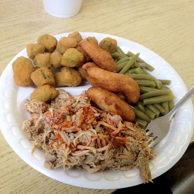 A&G BBQ and Chicken is located in Carolina Beach just south of the Lake at 800 S Lake Park Boulevard.   If you would like more info on their catering services or to place a take-out order please give them a call at (910) 458-8620.