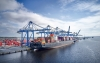 A new air draft over the Cape Fear River will make it easier for container vessels to reach the Port of Wilmington. The new allowable air draft has been increased to 212 feet. The air draft clearance will allow ships with a carrying capacity of 14,000 TEUs (twenty-foot-equivalent unit) and greater to safely and efficiently navigate to Wilmington.