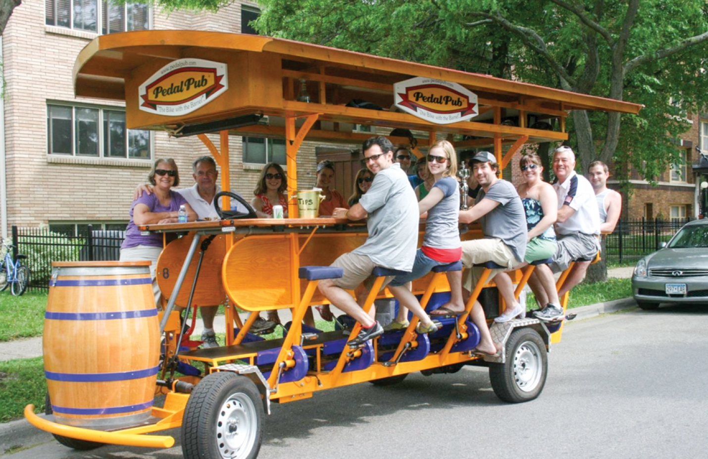 Council To Consider Allowing Trolley-style Pedal Powered Pub Tours