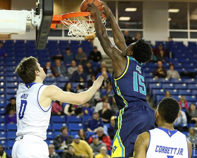 Seahawks Fry Blue Hens With Hot Shooting, 91 to 81