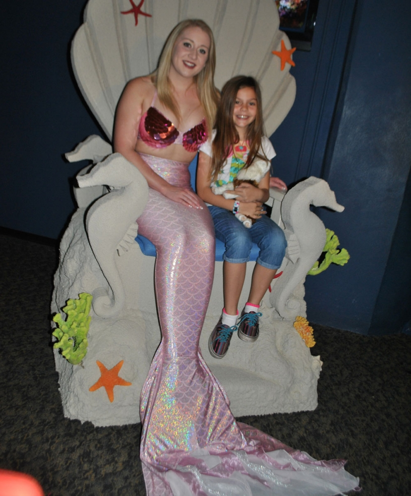 Come See the Weeki Wachee Mermaids Before They are Gome this Weekend at the North Carolina Aquarium Fort Fisher