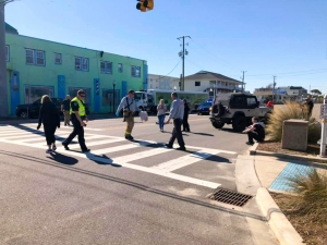 A child passed away following an accident Friday morning, March 22nd, 2019 in Carolina Beach when a Jeep hit the female child and a woman at the intersection of Cape Fear Blvd and Lake Park Blvd.  Earlier this month the driver pled guilty to  misdemeanor death by motor vehicle.
