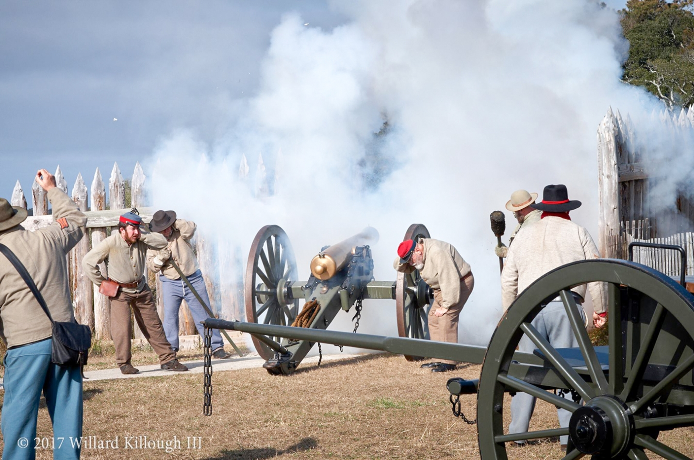 Fort Fisher State Historic Site will commemorate the 155 th anniversary of the second battle of Fort Fisher with the program, 'Glory Enough for All', Saturday and Sunday, January 18-19, 2020, from 10 am-4 pm in Kure Beach.