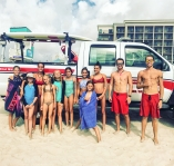 Junior Lifeguards recently graduated from a Junior Lifeguard Camp held by Carolina Beach Ocean Rescue June 26th to June 30th. The next camp will be held July 31st to August 4th.