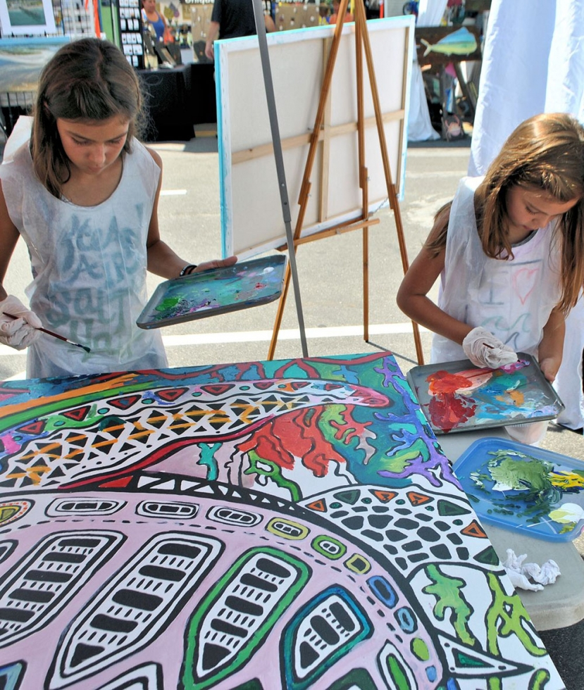 Street Art Festival Brings the Arts to Carolina Beach