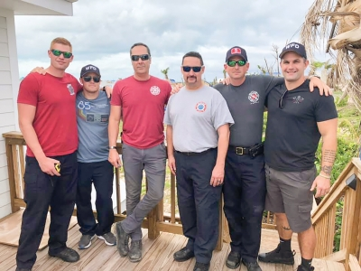 Members of the Carolina Beach, Kure Beach and Wilmington Fire Departments traveled by plane on Monday November 18th to the Bahamas to aid relief efforts in Hope Town, Bahamas following Hurricane Dorian.