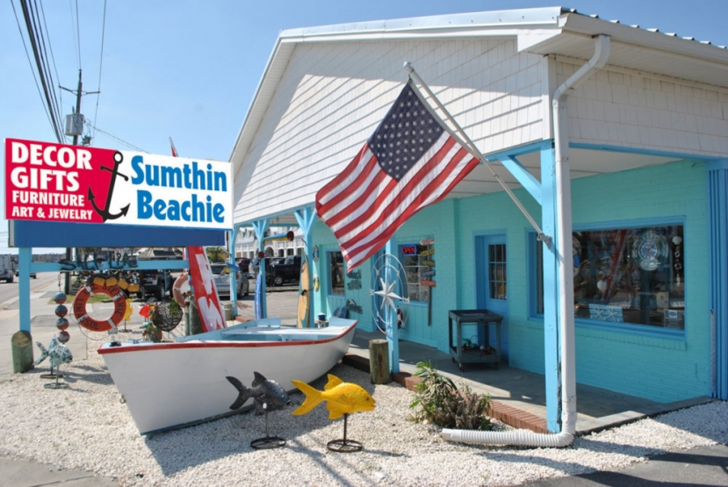 Come See What's New at Sumthin Beachie