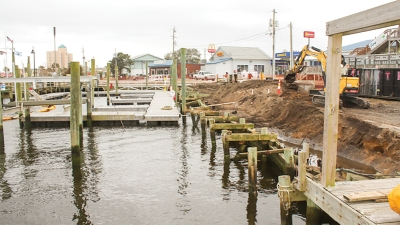 The Town of Carolina Beach was recently notified it has been awarded a grant from the Golden LEAF Foundation for $2.1 million dollars to make needed repairs to the Town's Municipal Marina which is home to a vast fleet of commercial charter fishing vessels that help fuel the local economy.