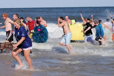 The 15th Annual Polar Plunge will take place Feb. 23rd, in downtown Kure Beach. Proceeds from the Polar Plunge along with the race go directly to the Special Olympics New Hanover County who provides year-round sports training, competition, social events and Camp Shriver summer camp for people eight years of age and older with intellectual disabilities. In New Hanover County, over 600 athletes participate in Special Olympics.  For more info visit https://its-go-time.com/polar-plunge/