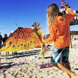 Cape Fear Kite Festival Draws Hundreds to Ft Fisher