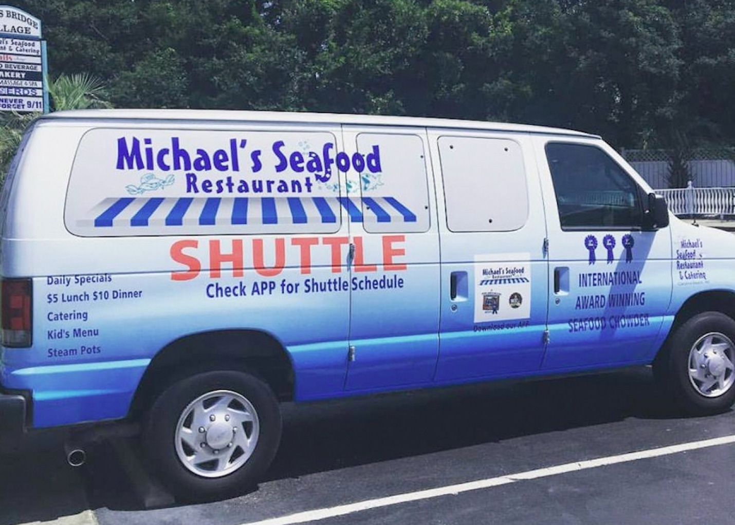 Daily Specials and Get Shuttled at Michael's Seafood