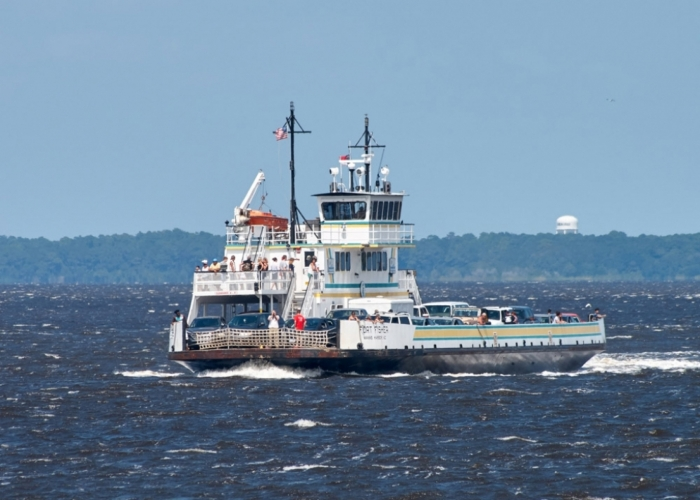 Fort Fisher Ferry Crew Honored For April Rescue of Kiteboarder