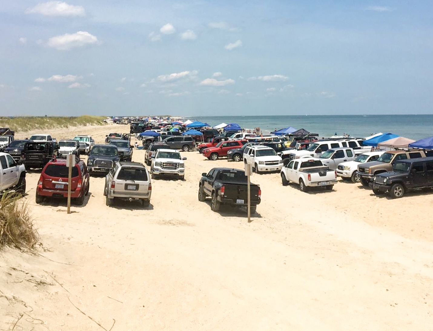 The Town of Carolina Beach has resumed the sale of daily passes for vehicles to enter Freeman Park on the North End of Pleasure Island following Hurricane Dorian. Restrictions on camping and prohibition of vehicle access to certain areas of the park will continue due to high tide conditions and erosion.