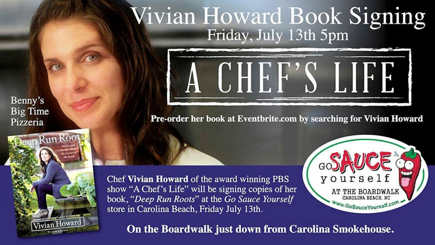 Go Sauce Yourself: Vivian Howard is Coming to Carolina Beach