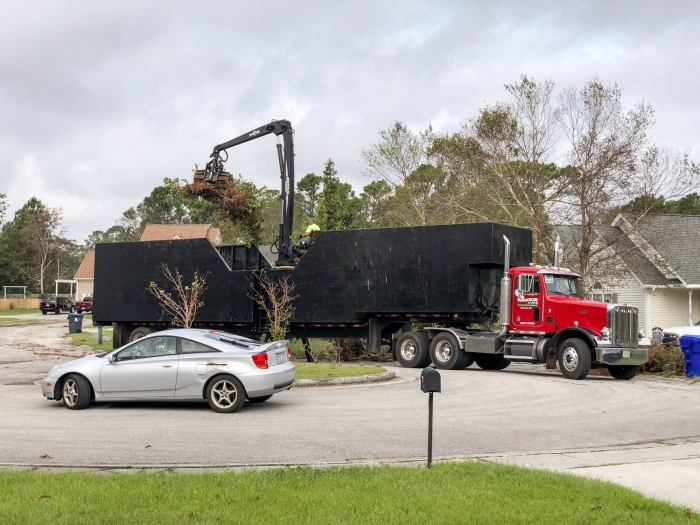 Update On Florence Debris Removal In Carolina Beach