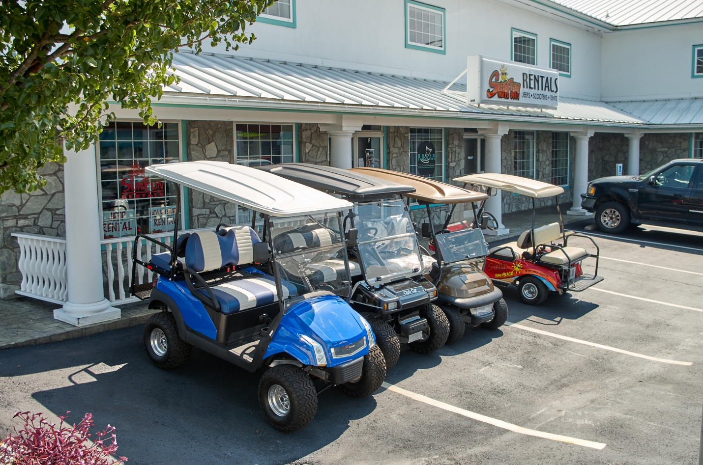 SunFun: Golf Cart Sales, Repairs and Customization
