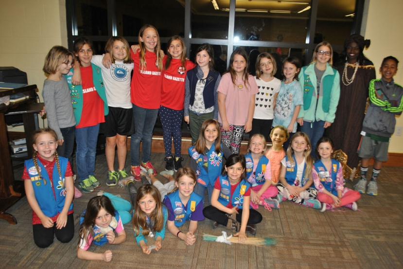 Local Girl Scout Troops Celebrate World Thinking Day