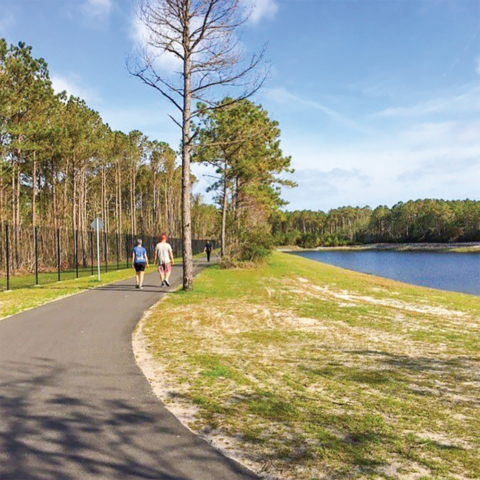 New Island Greenway Open In Carolina Beach