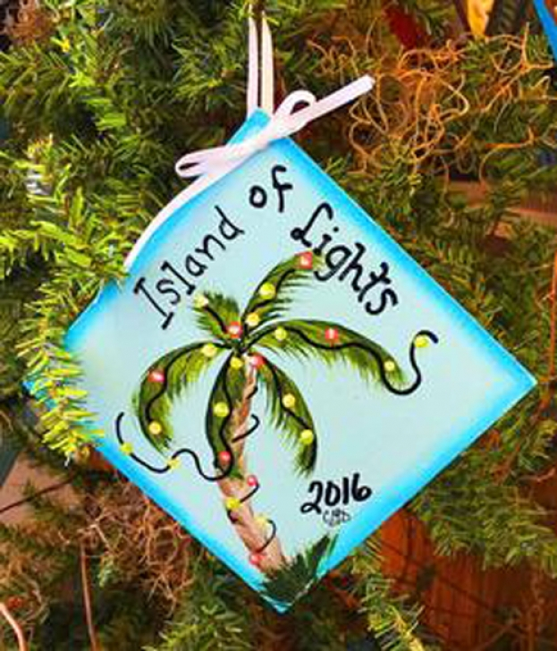 2016 Island of Lights Annual Christmas Card and Ornament