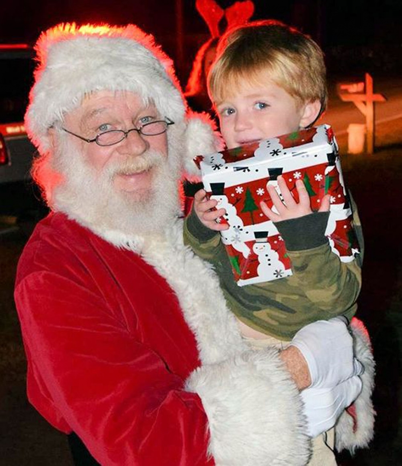 CBFD Taking Donations for Santa Appearance