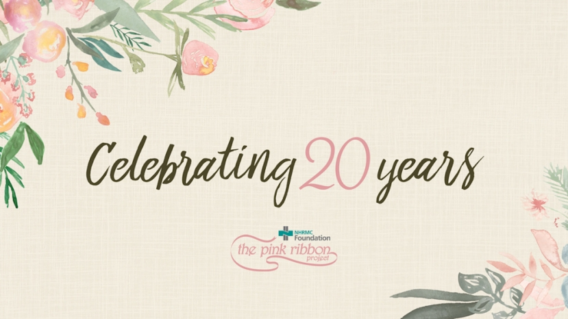 NHRMC Foundation Celebrates 20 years of The Pink Ribbon Project