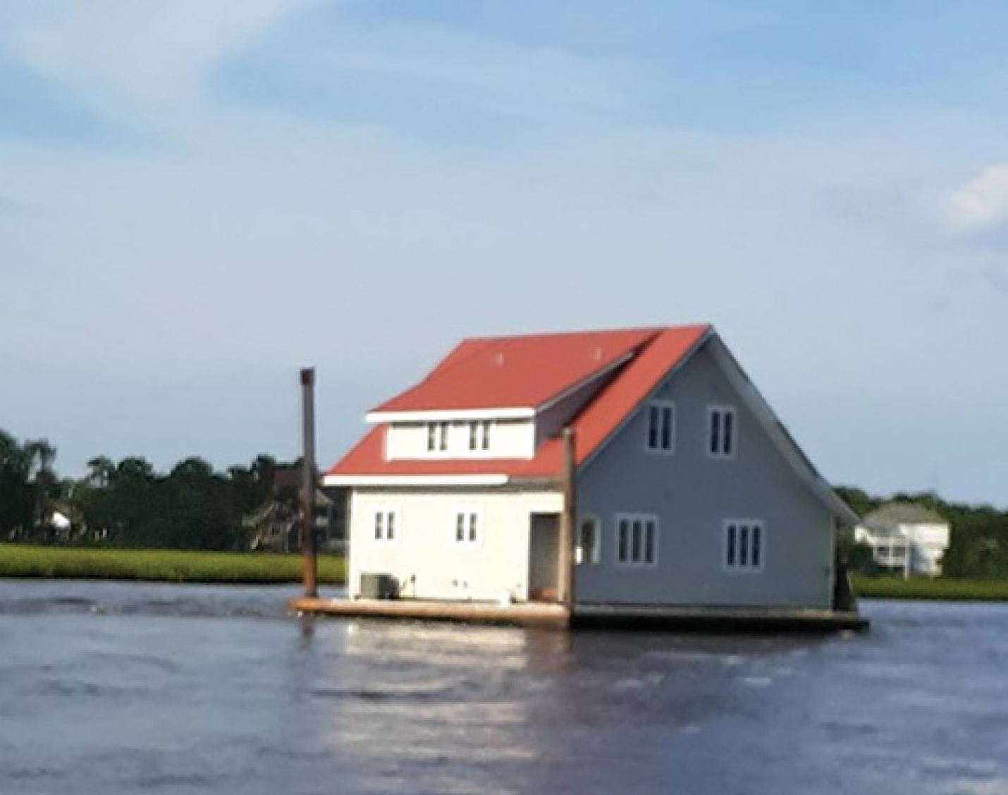 Carolina Beach Investigating A House, Barge Docked Over The Weekend