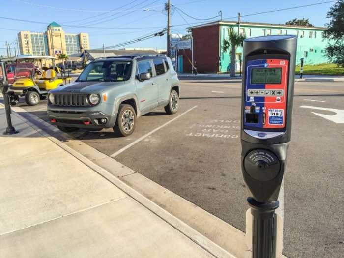 Parking enforcement returned to Carolina Beach on April 1st.  Parking is free at Town parking lots and metered parking spaces in the off season. From April 1st to October 31st, parking is $2.00 per hour  in lots and $2.00 per hour at parking meters. Failure to pay leads to a $15 ticket.  The Town sells Parking Permits to permit parking without paying at a lot or meter.