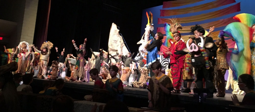 "Murray Middle School Theater Performs ""The Lion King Jr"""