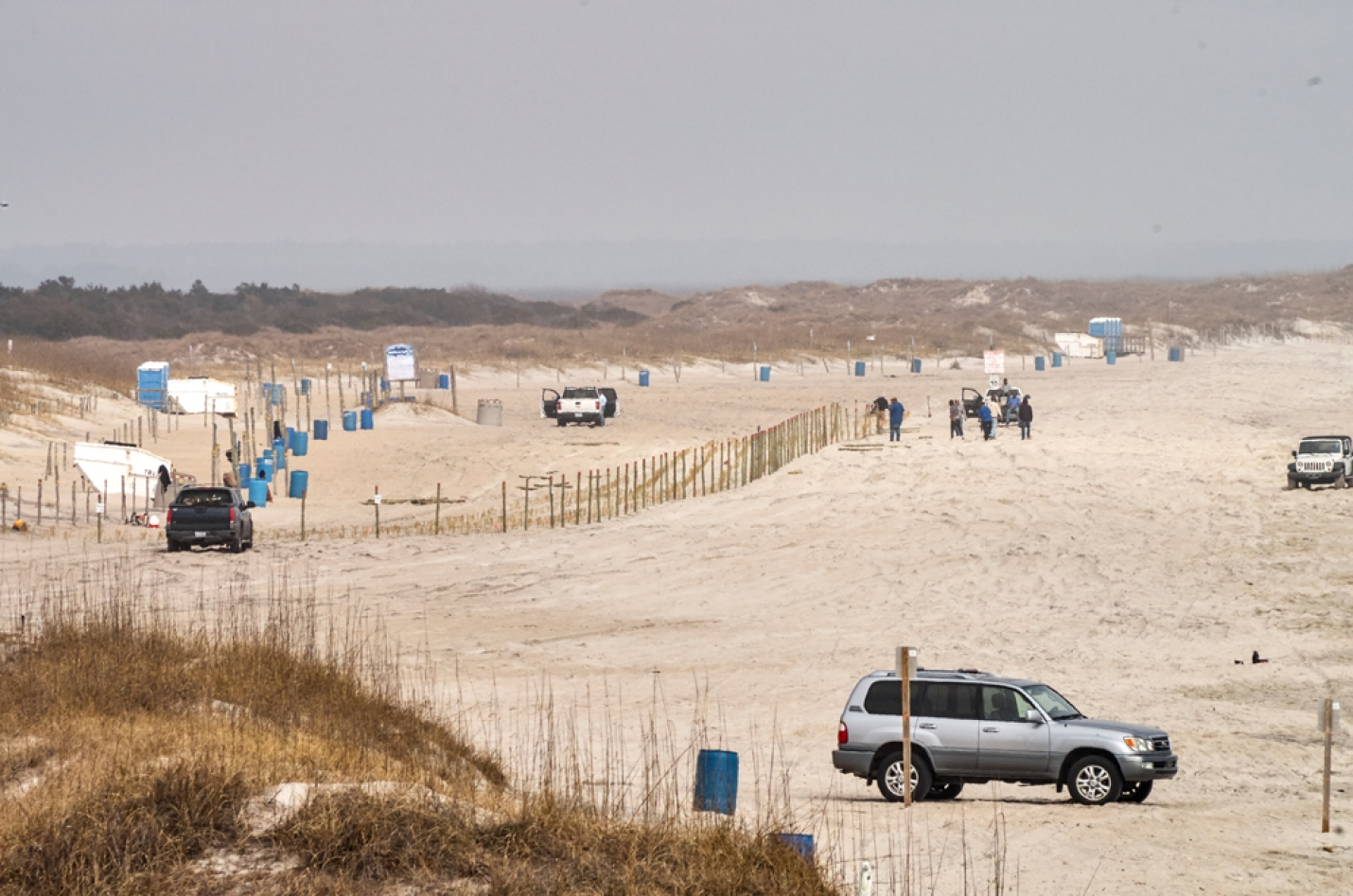 The Town of Carolina Beach reopened Freeman Park on Tuesday Feb. 20th. The following day they removed posts erected by a property owner that caused the closing earlier in the week. Now the property owner is appealing a Notice of Violation issued by the Town.