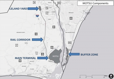 On Monday June 24th and Tuesday June 25th, the Cape Fear Council of Governments (CFCOG) will hold public meetings in Kure Beach and Southport to present the draft Military Ocean Terminal Sunny Point (MOTSU) Joint Land Use Study (JLUS).