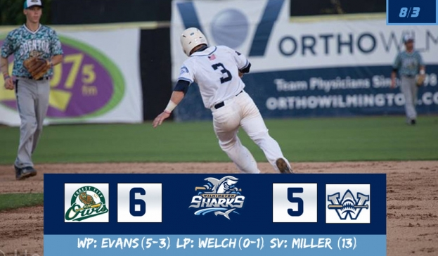 Sharks Rally Comes Up Short in 6-5 Loss to the Owls