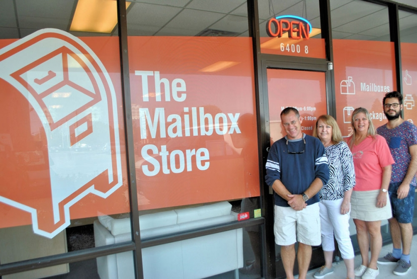 The Mailbox Store is located in Masonboro Commons at 6400 Carolina Beach Road Suite 8 in Wilmington They are open Monday through Friday from 8:30am until 6:00pm and Saturdays from 9:00am until 1:00pm and can be reached at (910)399-8550. Visit them online at mailboxstorewilmington.com for a complete lost of services, products and even get a quote!