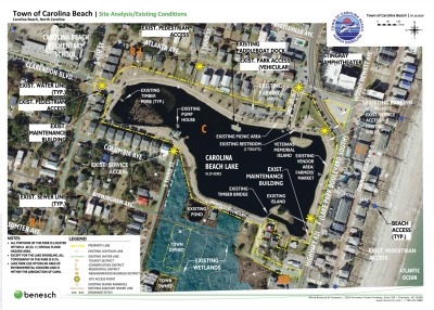 A nearly $4.7 million dollar plan for a new park at the Carolina Beach Lake will be proposed to the Carolina Beach Town Council during their June 9th, meeting. The meeting starts at 6:30pm at Town Hall. You can view the entire proposal online at www.carolinabeach.org