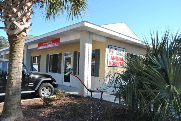 Pleasure Island Animal Hospital is located at 1140 North Lake Park Boulevard, Suite J in Carolina Beach across from Town Hall. Hours of operation are: 8:00am to 6:00pm Monday through Friday and 8:00am to 1:00pm on Saturday. For more information call (910) 458-5800, visit their website for a detailed list of their services and current specials, at  animalhospitalcarolinabeach.com or check them out on Facebook.