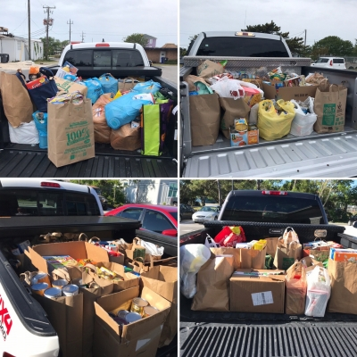 Many people are finding ways to be productive, or, contribute to their community during the COVID-19 pandemic. In Kure Beach, the Town's Recreation Department is accepting food and monetary donations to aid the Help Center of Federal Point and feed those in need.
