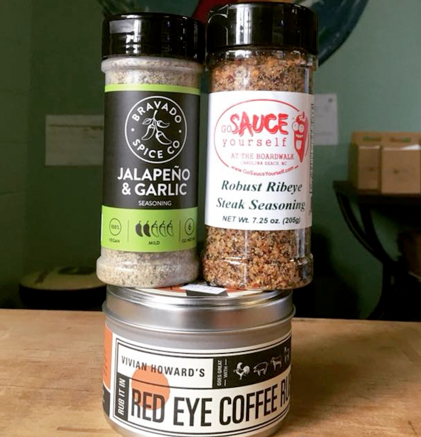 NC Beer And Steak Seasoning at Go Sauce Yourself